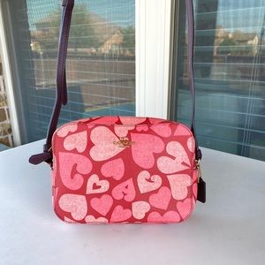 Authentic Jasper Heart Coach Crossbody